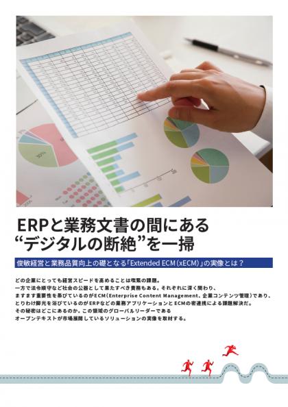 "ERPと業務文書の間にある""デジタルの断絶""を一掃"